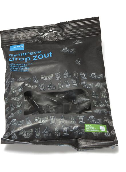 gemengde drop zout - 10220060 - HEMA