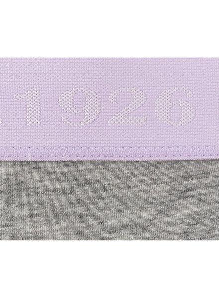 damesslip grijsmelange grijsmelange - 1000006588 - HEMA