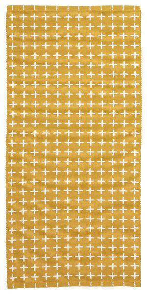 kleed 65 x 135 geel - 13220034 - HEMA