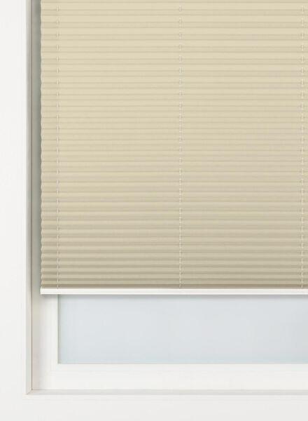 plisségordijn glanzend lichtdoorlatend 20 mm - 7430088 - HEMA