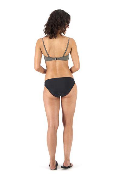 dames padded bandeau bikinitop zwart zwart - 1000017900 - HEMA