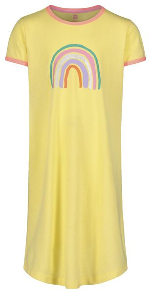 kindernachthemd geel geel - 1000018475 - HEMA