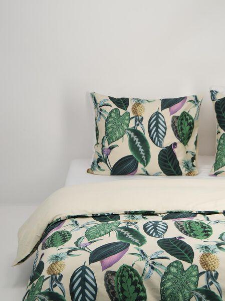 dekbedovertrek - hotel katoen satijn groen groen - 1000018689 - HEMA