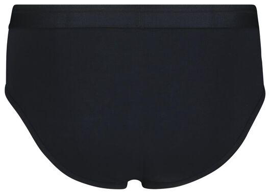 2-pak herenslips real lasting cotton donkerblauw donkerblauw - 1000018795 - HEMA