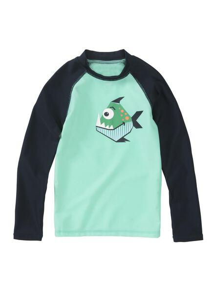 kinder zwemshirt groen groen - 1000012956 - HEMA