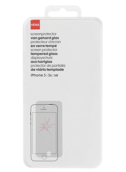 screenprotector Iphone 5/5S - 39609125 - HEMA