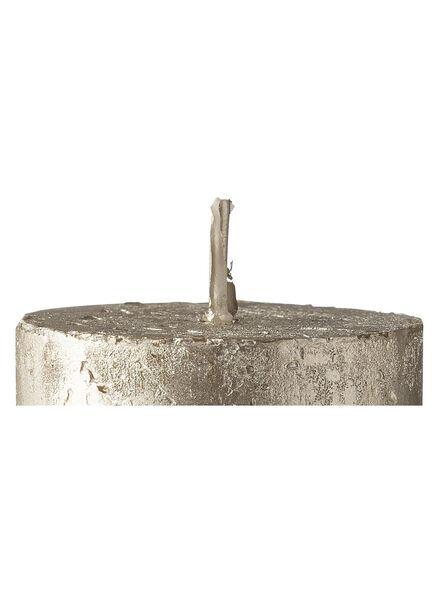 rustieke kaarsen champagne champagne - 1000015407 - HEMA