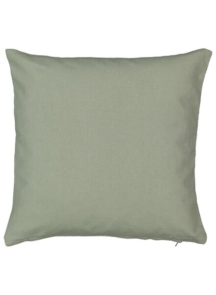 kussenhoes - 40 x 40 - grafisch - groen - 7392109 - HEMA