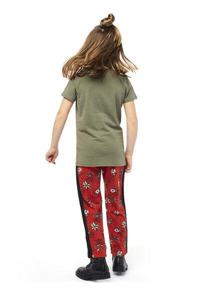 klinder t-shirt legergroen 146/152 - 30845150 - HEMA