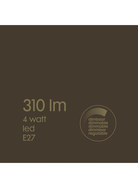 LED lamp 4W - 310 lm - peer - goud - 20020070 - HEMA