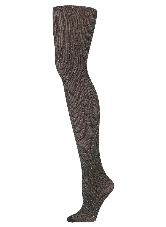 HEMA Fashion Panty Met Glitters Zwart (zwart)