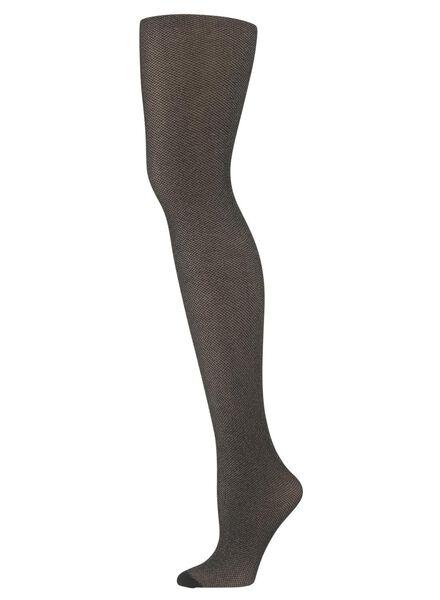 fashion panty met glitters zwart zwart - 1000010285 - HEMA