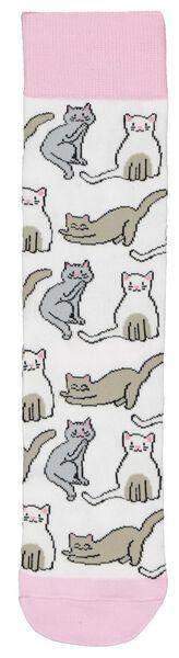 sokken maat 36-41 katten - 61140072 - HEMA