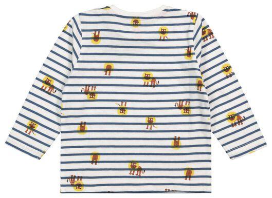 baby t-shirt blauw blauw - 1000017540 - HEMA