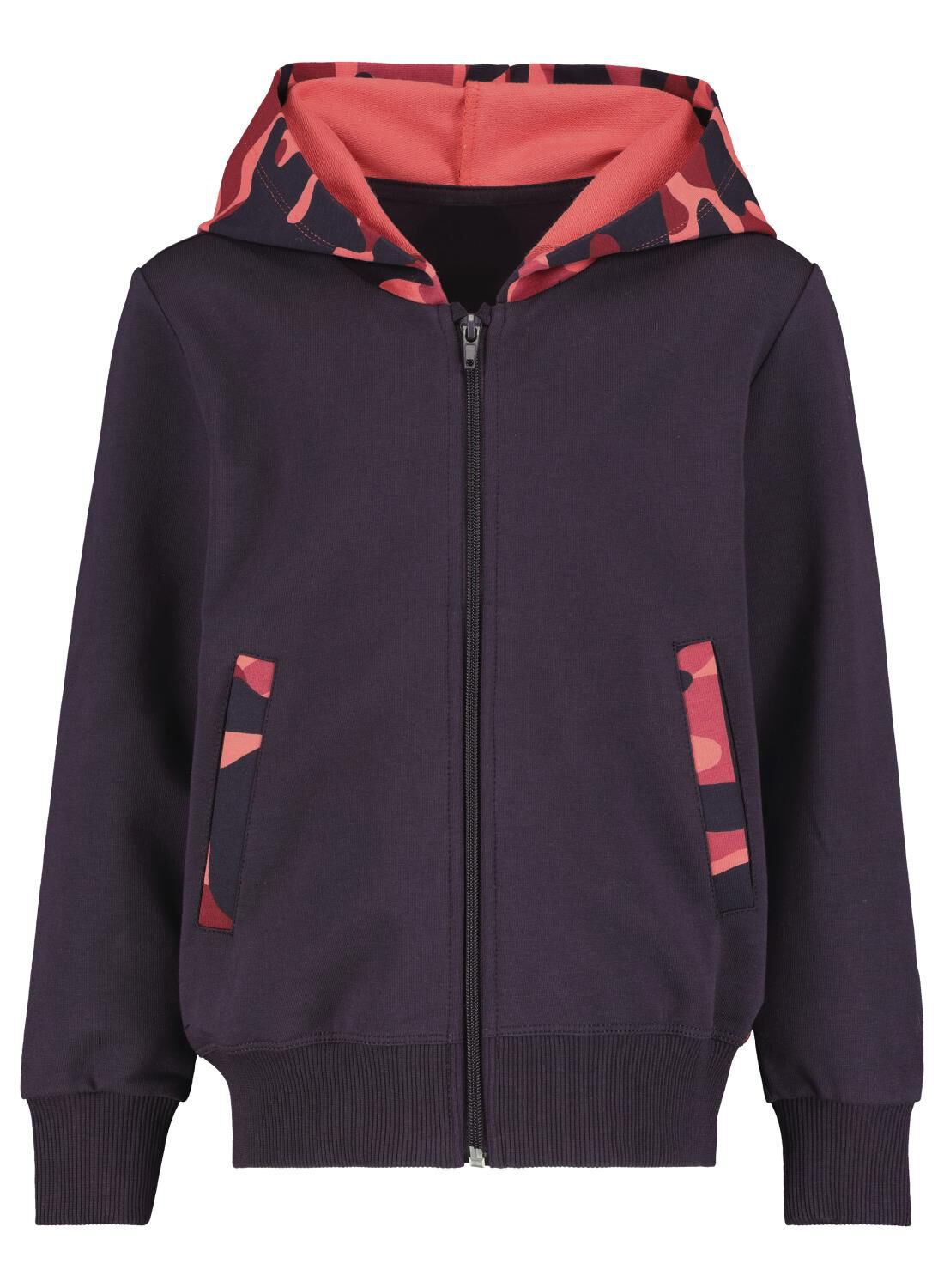 Bananas&Bananas Kinderhoody - Bananas&Bananas Rood (rood)