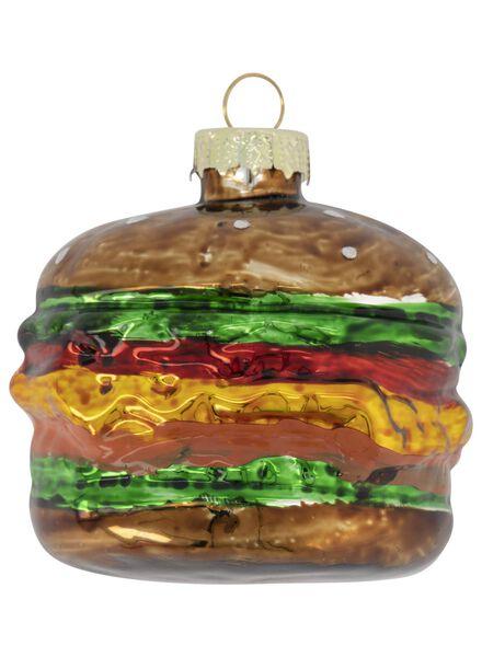 hanger 5.7x6.6 glas hamburger - 25104832 - HEMA