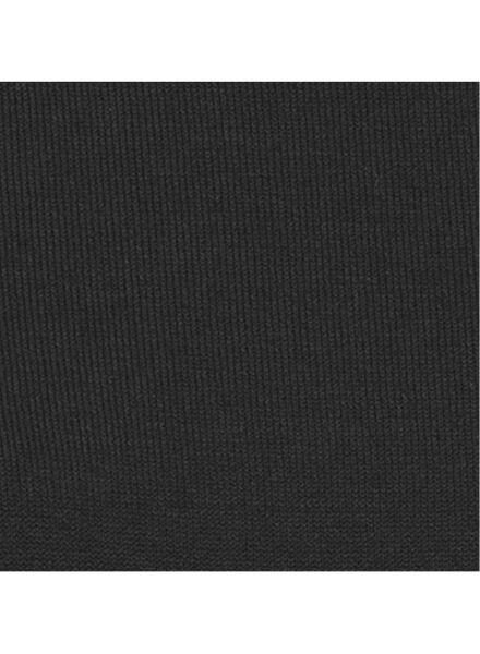 dames coltrui zwart zwart - 1000009711 - HEMA