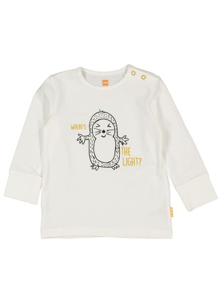 baby pyjama met bamboe geel geel - 1000014714 - HEMA