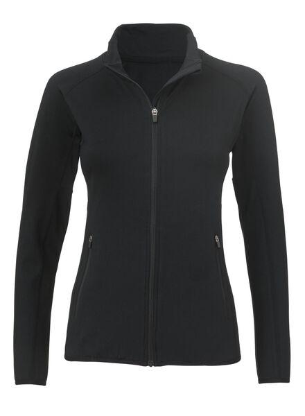 dames sportvest zwart zwart - 1000002985 - HEMA
