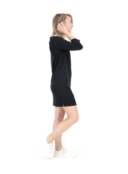 damesjurk zwart zwart - 1000014824 - HEMA