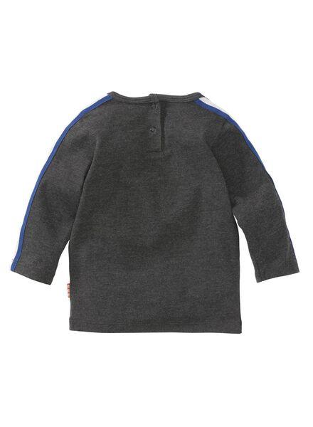 baby t-shirt donkergrijs donkergrijs - 1000008326 - HEMA