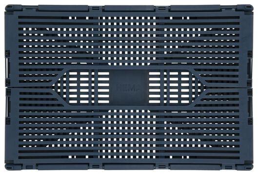 klapkratje letterbord recycled 20x30x11.5 blauw - 39811130 - HEMA