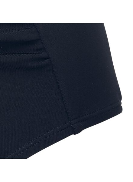dames bikinislip high waist medium control recycled blauw L - 22340323 - HEMA