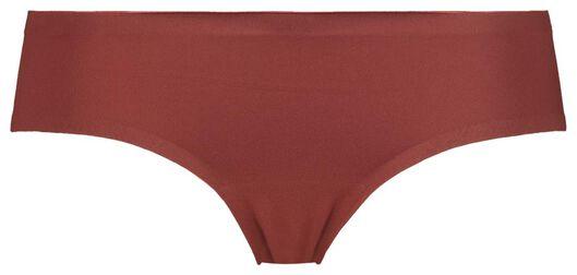 dameshipster second skin micro rood L - 19650394 - HEMA
