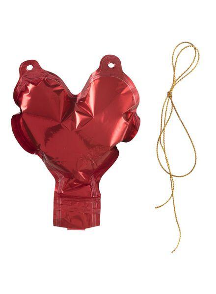 folieballon hart 11 cm - 60800622 - HEMA