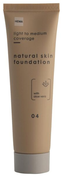 foundation natural skin 04 - 11290324 - HEMA