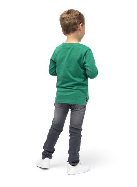 kinder t-shirt felgroen felgroen - 1000014727 - HEMA