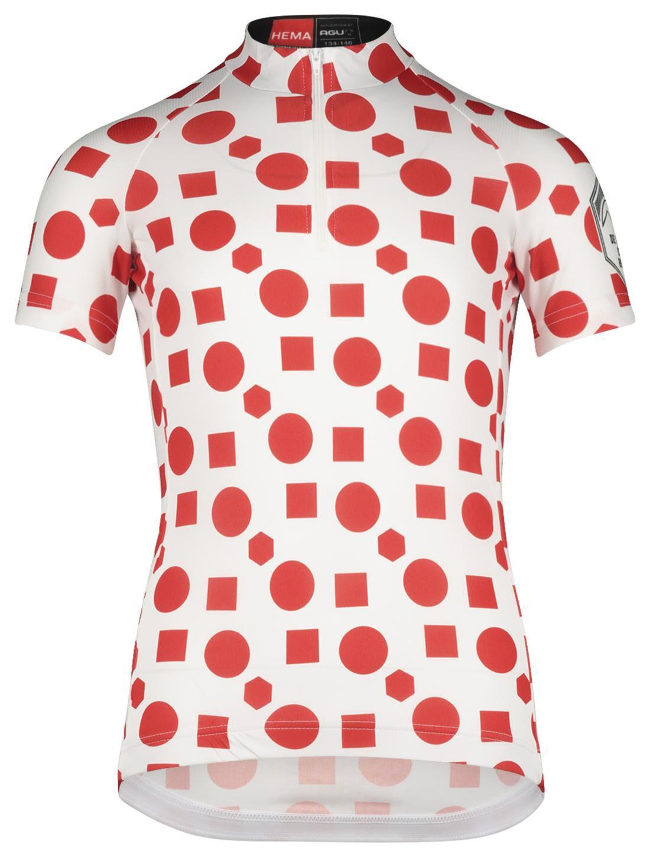 HEMA Kinder Fietsshirt Berg Rood (rood)