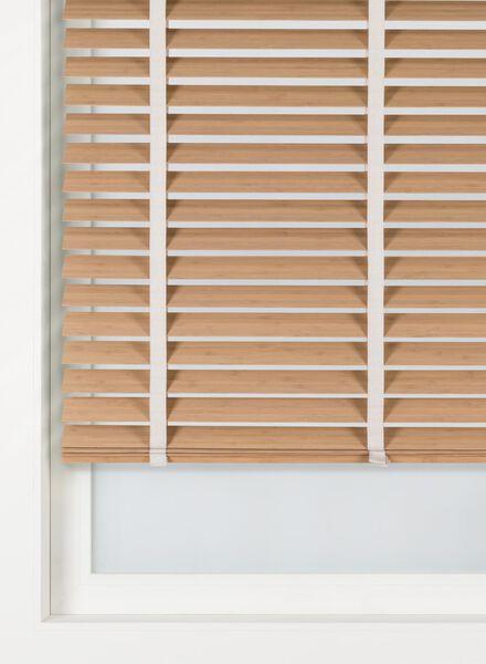 jaloezie hout bamboe 50 mm - 7420065 - HEMA