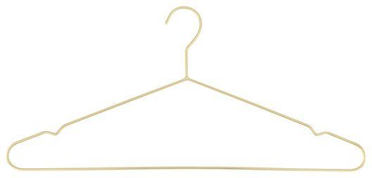 kledinghangers metaal goud 3 stuks - 39891026 - HEMA