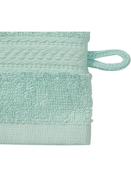 washand - zware kwaliteit - mintgroen uni mintgroen washandje - 5240000 - HEMA