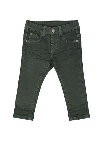 baby jogdenim groen 80 - 33095304 - HEMA