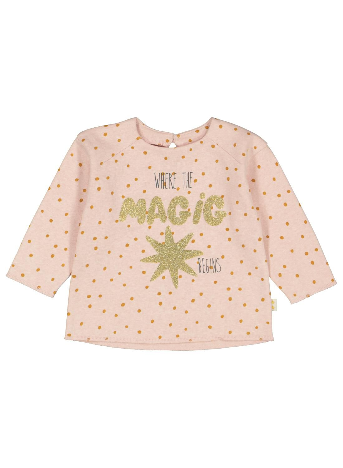 HEMA Babysweater Magic Oudroze (oudroze)