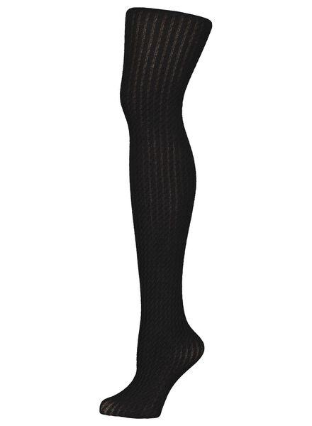 fashion maillot met dessin zwart zwart - 1000016538 - HEMA