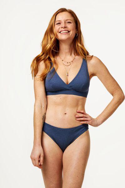 dames bikinislip grijs S - 22310991 - HEMA