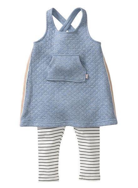baby setje blauw blauw - 1000003740 - HEMA