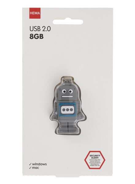 USB-stick robot 8GB - 39500004 - HEMA