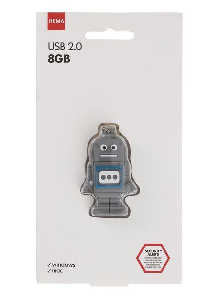 USB-stick robot 8GB - 39500004 - HEMA