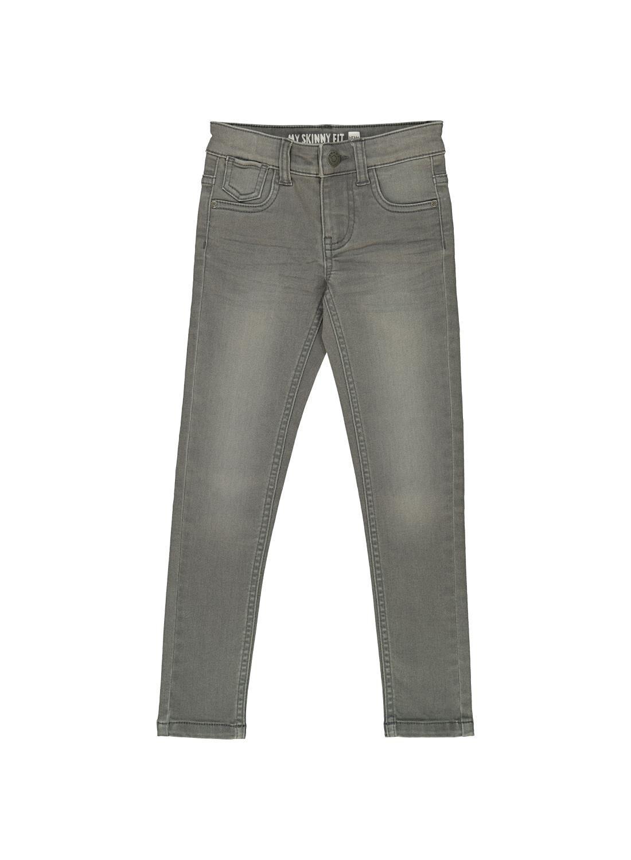 HEMA Kinder Skinny Jeans Grijs (grijs)