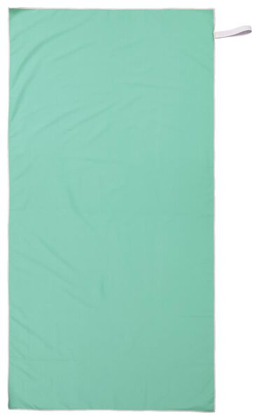 microvezelhanddoek 110x175 groen - 5290058 - HEMA