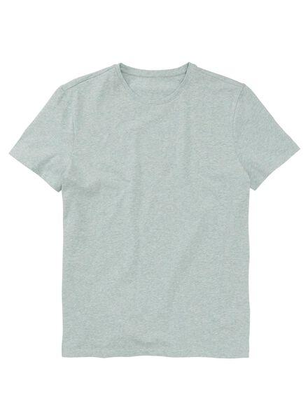heren t-shirt lichtgroen lichtgroen - 1000011528 - HEMA