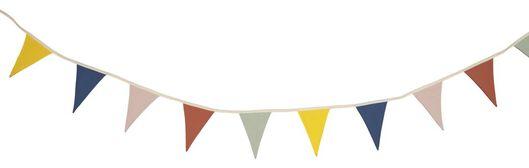 vlaggenlijn textiel 3.8meter - 13211104 - HEMA