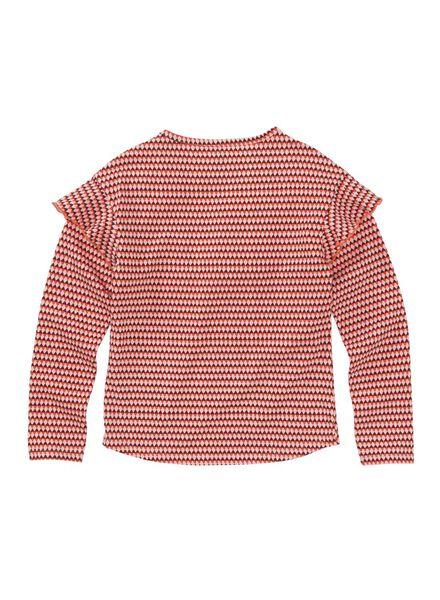 kinder t-shirt rood rood - 1000008606 - HEMA