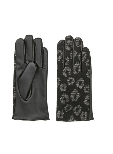 dameshandschoenen zwart zwart - 1000009306 - HEMA