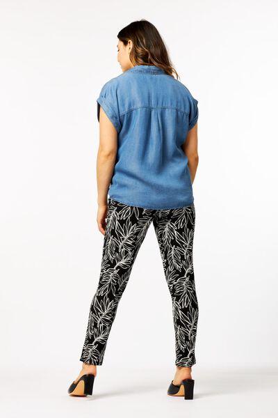damesblouse lichtblauw M - 36282257 - HEMA