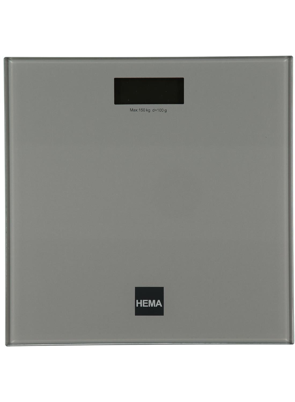 HEMA Digitale Personenweegschaal (Silver)